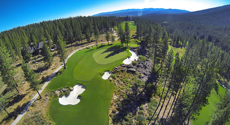Martis Camp Golf Course Hole 17