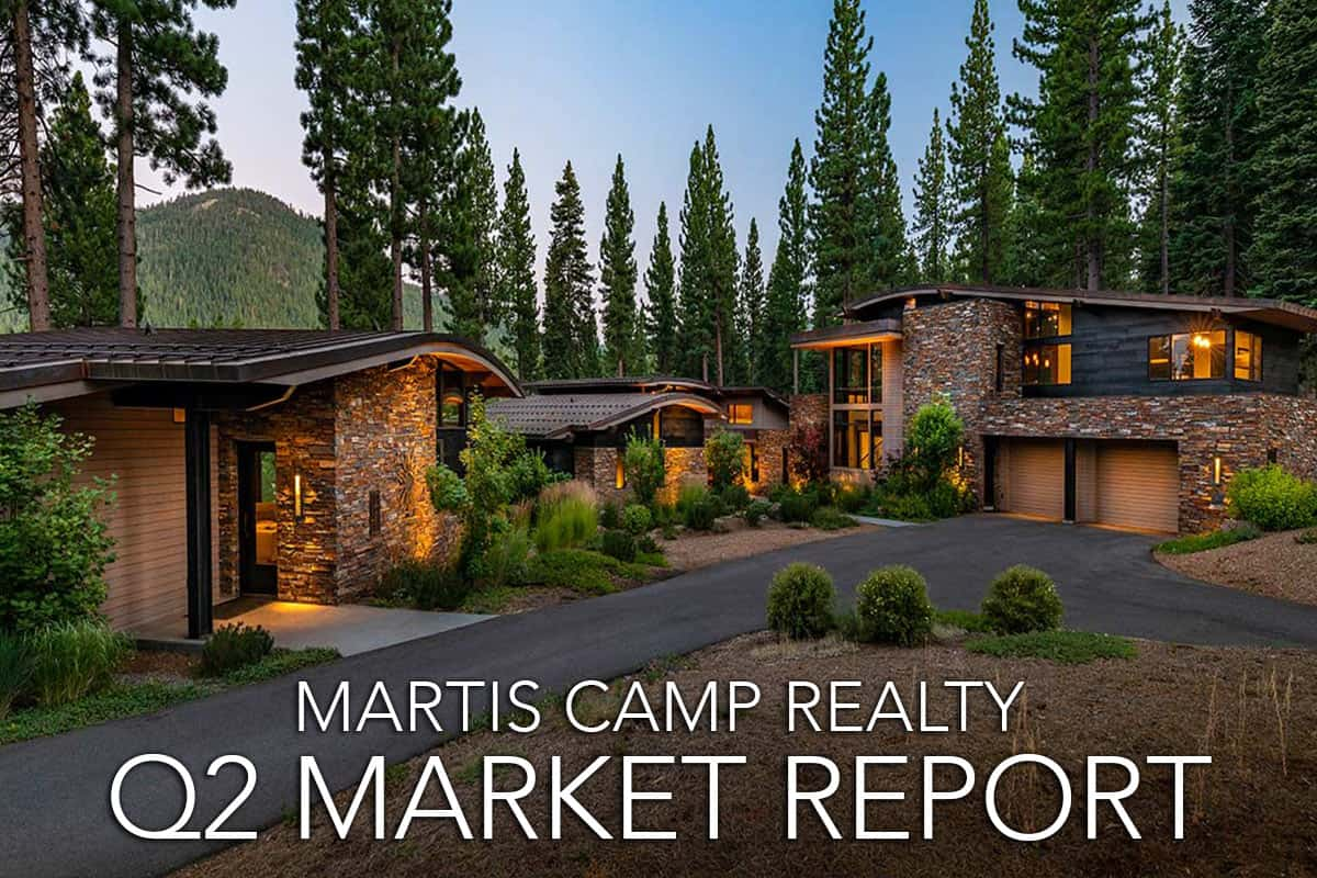 Martis Camp Real Estate Report – Q2 – 2019